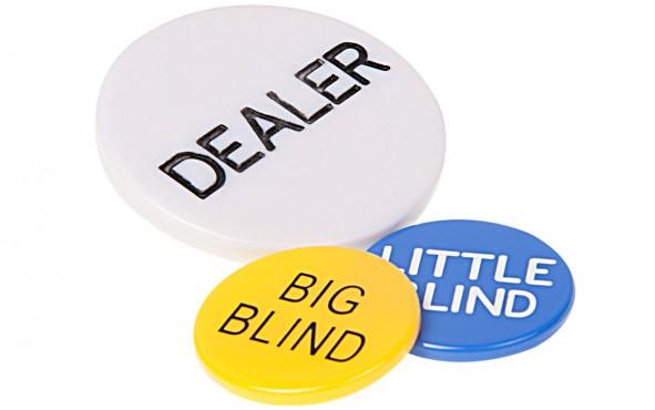 Dealer Button, Big και Little Blind