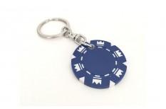 Μπρελόκ Μάρκες Πόκερ Crowns Μπλε