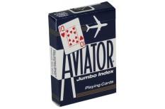 Τράπουλα Aviator Jumbo Μπλε