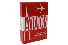 Τράπουλα Aviator Regular Κόκκινη