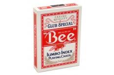 Τράπουλα Bee Jumbo Κόκκινη