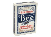 Τράπουλα Bee Jumbo Μπλε
