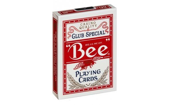 Τράπουλα Bee Regular Κόκκινη