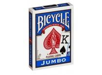Τράπουλα Bicycle Rider Back Jumbo Μπλε