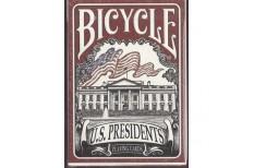 Τράπουλα Bicycle U.S. Presidents Κόκκινη