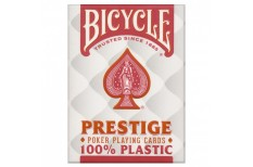 Τράπουλα Bicycle Prestige Jumbo Κόκκινη