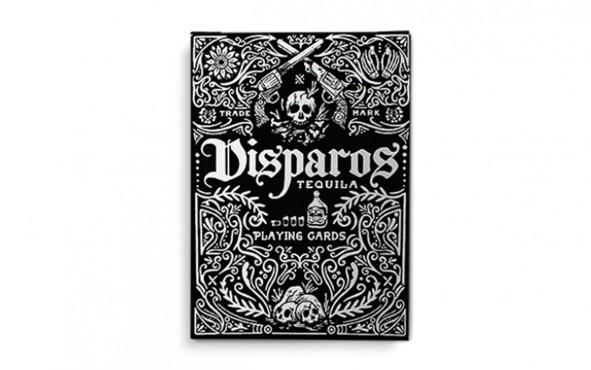 Τράπουλα Disparos Black by Ellusionist