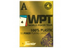 Τράπουλα Fournier WPT Gold Edition Jumbo Μπλε