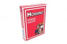Τράπουλα Modiano Ruote 99 Regular Κόκκινη