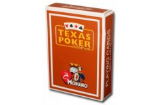 Τράπουλα Modiano Texas Poker Jumbo Καφέ