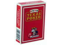 Τράπουλα Modiano Texas Poker Jumbo Κόκκινη