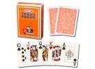 Τράπουλα Modiano Texas Poker Jumbo Πορτοκαλί