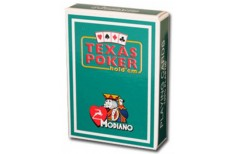 Τράπουλα Modiano Texas Poker Jumbo Πράσινη Σκούρο