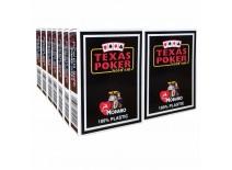 14 Τράπουλες Modiano Texas Poker Jumbo Μαύρη