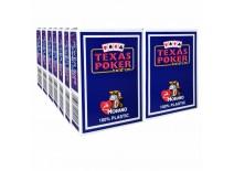 14 Τράπουλες Modiano Texas Poker Jumbo Μπλε