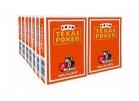 14 Τράπουλες Modiano Texas Poker Jumbo Πορτοκαλί