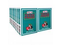 14 Τράπουλες Modiano Texas Poker Jumbo Πράσινη Σκούρο