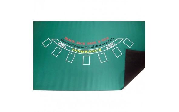 Τσόχα Black Jack 90x180cm Nεοπρένιο Πράσινη