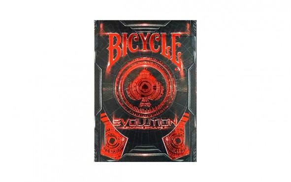 Τράπουλα Bicycle Evolution Red