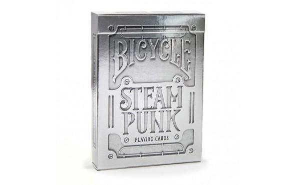 Τράπουλα Bicycle Silver Steampunk