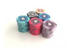 Κεραμικές Μάρκες Πόκερ Custom