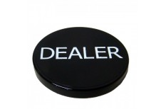 Dealer Button Μάυρο