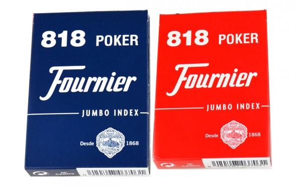 Τράπουλα Fournier Classic Διπλή Θήκη Jumbo Μπλε/Κόκκινη
