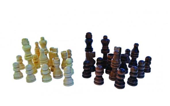 Πίονια για Σκάκι Ξύλινα 63mm