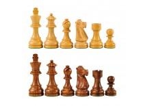 Πίονια για Σκάκι Ξύλινα PLATINUM 95mm 800gr