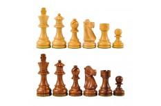 Πίονια για Σκάκι Ξύλινα PLATINUM 76mm 330gr