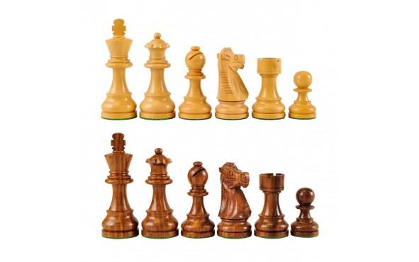 Πίονια για Σκάκι Ξύλινα PLATINUM 89mm 460gr