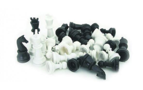 Πίονια για σκάκι Πλαστικά Απλά 72mm