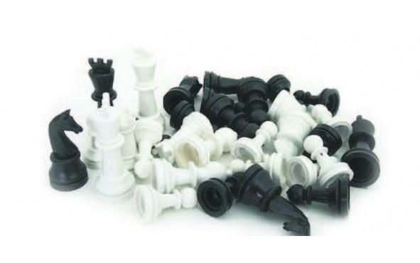 Πίονια για Σκάκι Πλαστικά Απλά Μικρά 52mm