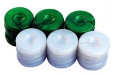 Πούλια για Τάβλι Τύπου Φίλντισι Μεσαία Πράσινα/Λευ&k