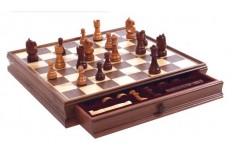 Σκάκι Καρυδιά 38 x 38 cm
