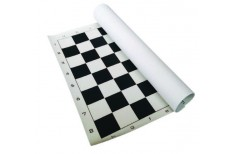 Σκακιέρα Βινυλίου 45x45cm Μαύρη