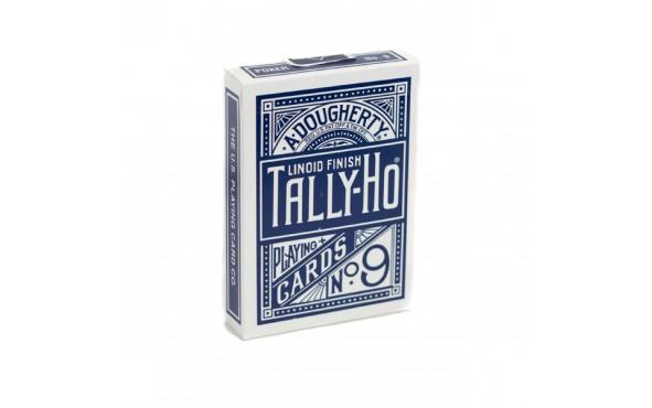 Τράπουλα Tally Ho Fan Back Regular Μπλε