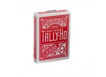 Τράπουλα Tally Ho Fan Back Regular Κόκκινη