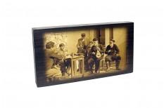 Τάβλι Γράβουρα Λυραρήδες Μεσαίο 39x24cm
