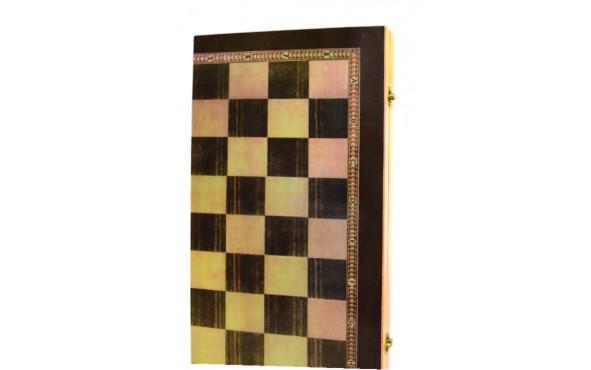 Τάβλι - Σκάκι Απλό Μεγάλο 48x26cm