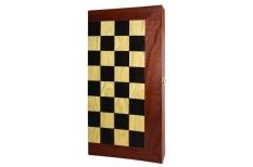 Τάβλι - Σκάκι Mαόνι 48x26cm