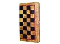 Τάβλι - Σκάκι Τυπωμένο Τύπου Ελιά