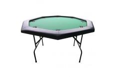 Τραπέζι Πόκερ Οκτάγωνο 120cm Πράσινο