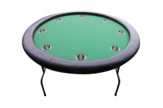 Τραπέζι Πόκερ 120cm Πράσινο