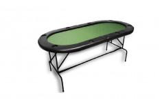 Τραπέζι Πόκερ Οβάλ 180cm Πράσινο