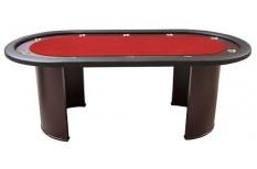 Tραπέζι Ποκερ Reno Luxe 210cm Κόκκινο