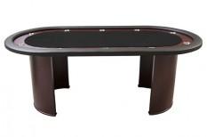 Tραπέζι Ποκερ Reno Luxe 210cm Μαύρο