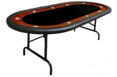 Tραπέζι Ποκερ Reno 212cm Μαύρο