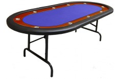 Tραπέζι Ποκερ Reno 212cm Mπλε
