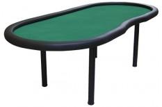Τραπέζι Πόκερ Οβάλ Dealer 233cm Πράσινο